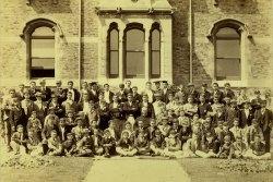 1895 School Photo