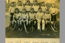 [260] 1936 Hockey 1st XI with names