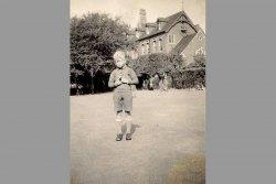 [268] 1939 Nicholls in front of school
