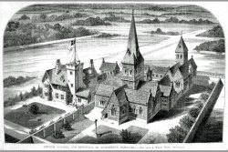 [517] St Augustines Church and Schools 1850s