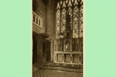 The High Altar and Abbatial Throne