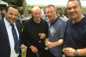St Augustines Abbey Chilworth and Recent OA Events - Fr Benedict Celebration Chilworth - July 2014